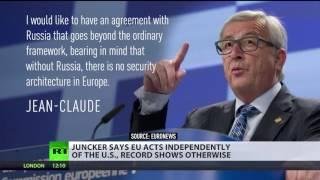 Download Obama calling Russia 'regional power' was big error – EC head Juncker Video