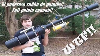 Download Best Fail Compilation potato cannon! - Cañon de patatas! - Noviembre 2013 Video