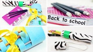 Download BACK TO SCHOOL - DIY Mäppchen, Pencil Case & Glitter Stifte Video