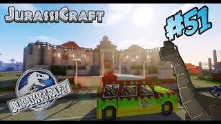 Download CONSTRUYENDO AVIARIO JURASSIC WORLD!!! - Minecraft Jurassicraft #51 Video