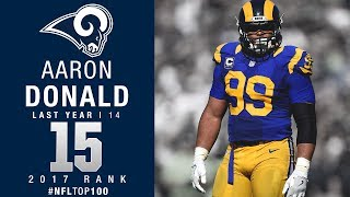 Download #15: Aaron Donald (DT, Rams) | Top 100 Players of 2017 | NFL Video