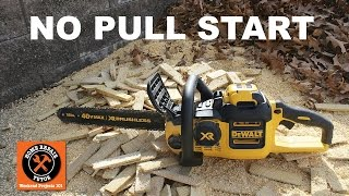 Download DeWALT's 40V Max Brushless Chainsaw - by Home Repair Tutor Video