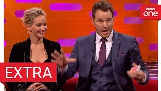 Download Chris Pratt's epic card trick fail - The Graham Norton Show 2016 | Extra - BBC One Video