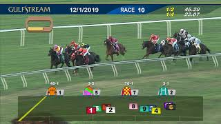 Download Gulfstream Park December 1, 2019 Race 10 Video