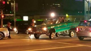 Download LA LOWRIDERS CRUSING ON HOLLYWOOD! Video