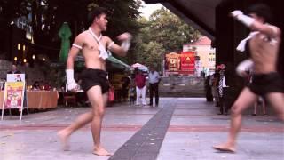 Download Muay Thai demonstration in Varna, Bulgaria Video