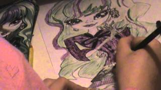 Download MONSTER HIGH HOW TO DRAW TWYLA WEB SHOW - WEBISODES Video