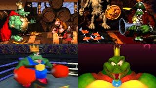 Download Evolution of King K. Rool Battles Video