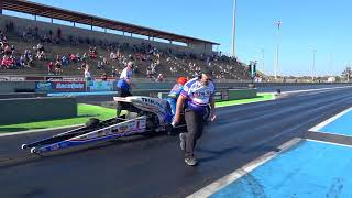 Download Man Cup - Larry 'Spiderman' McBride New Top Fuel Record 5.677 at 250.84 mph Video