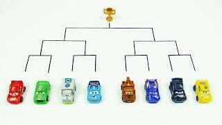 Download Mini Racers Crazy 8 Demolition Derby Tournament! Disney Cars Toys Video for Kids Video