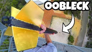 Download GIANT DART Vs. OOBLECK from 45m! Video