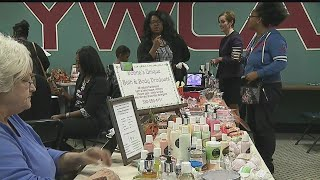 Download Women gather at YWCA to recognize their business ventures Video