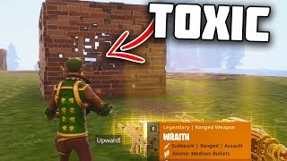Download Why do you even UPLOAD to YOUTUBE... (Toxic Scammer gets scammed) - Fortnite Save The World Video