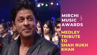 Download Romantic medley tribute to Shahrukh Khan by Bollywood Singers | Mirchi Music Awards Video