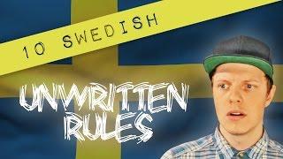 Download 10 SWEDISH UNWRITTEN RULES Video