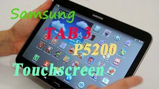 Download Ремонт Samsung tab 3 P5200 Замена сенсора - Touch screen replacement Video
