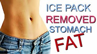 Download REMOVE Abdominal fat with ice packs! ONE WEEK!!! Video