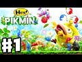 Download Hey! Pikmin - Gameplay Walkthrough Part 1 - Sector 1: Brilliant Gardens! All Treasures! Nintendo 3DS Video