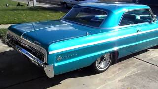 Download 1964 IMPALA SS FOR SALE CALIFORNIA PT6 Video