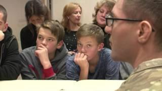 Download Latgales skolēnus izglīto par aizsardzības jautājumiem Video