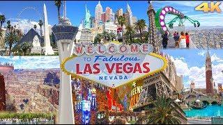 Download LAS VEGAS , NEVADA - BEST OF LAS VEGAS 2016 4K Video