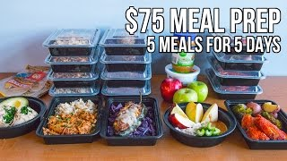Download $75 Epic Meal Prep 2016 - 5 meals for 5 days Video