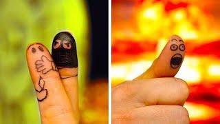 Download ٣٠ من فنون الأصابع الممتعة والرسوم الجنونية Video