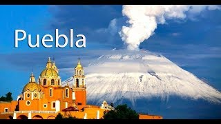 Download Puebla in Central Mexico, before earthquake ,tremor, travel,hotels, business, skyline, Video