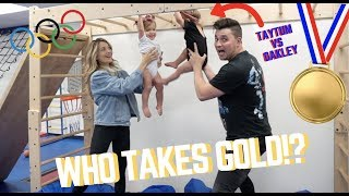 Download OLYMPIAN BABIES COMPETE! Video