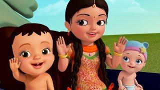 Download Chalti Hui Motor Gaadi Mein Haathon Se Taaliyaan Bajaana! | Hindi Rhymes for Children | Infobells Video
