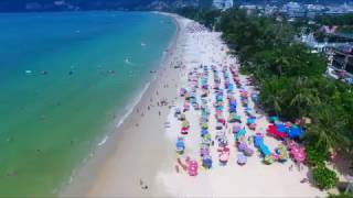 Download Phuket Patong beach Thailand 2017 4k Video