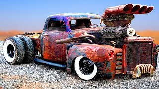 Download CRAZIEST and POWERFUL CARS & TRUCKS (Detroit Diesel) | CUSTOM HOT RODS and RAT RODS Video