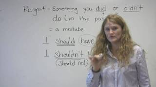 Download English Speaking - Mistakes & Regrets (″I should have studied″ etc.) Video