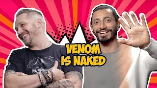 Download Venom Cast Makes Each Other Laugh So Hard (Tom Hardy, Riz Ahmed) Video