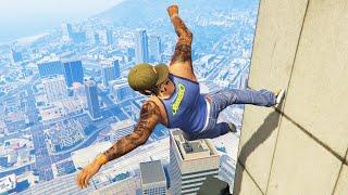 Download GTA 5 Funny/Crazy Jump Compilation #12 (GTA V Fails Funny Moments) Video