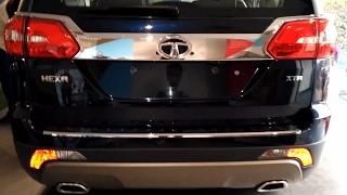 Download Tata Hexa (top model) XTA automatic exterior interior Video