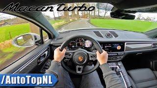 Download 2020 Porsche Macan Turbo POV Test Drive by AutoTopNL Video