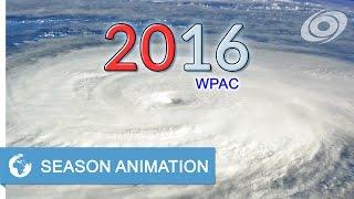 Download 2016 Pacific Typhoon Season Animation Video