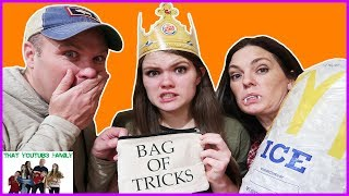 Download BAG OF TRICKS CHALLENGE - Doing DARES! / That YouTub3 Family Video