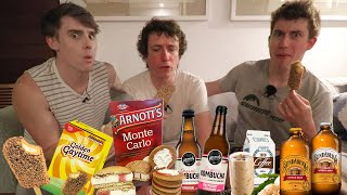 Download Brits Try Aussie Convenience Store Ice-Creams! (GOLDEN GAYTIME???) Video