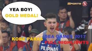 Download KOBE PARAS SEA GAMES 2017 FULL HIGHLIGHTS   GOLD MEDALIST   All About Basketball   Video