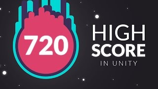 Download How to make a HIGH SCORE in Unity Video