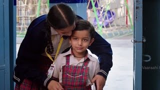 Download Mahitha takes his Kid friend to School with out admission - Manamantha - Chandra Sekhar Yeleti Video