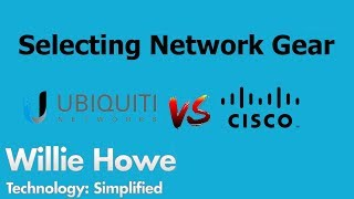 Download Selecting Network Gear - Ubiquiti Networks vs CISCO Video
