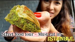 Download Must eat in Istanbul & Steet Food tour you can't miss!! Video