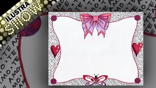 Download Como dibujar Decorar Carta de Amor Letras Cariñosas Tutorial ILUSTRA SHOW Video