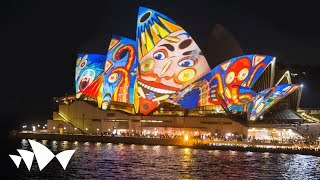 Download Sydney Opera House: Lighting the Sails - The Spinifex Group - Vivid LIVE 2013 Video