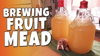Download CWTK - Brewing Honey Fruit Mead Video