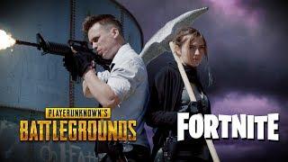 Download Fortnite vs PUBG Video