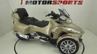 Download 2017 CAN AM SPYDER RT LIMITED 6 SPEED SEMI AUTOMATIC @ iMotorsports A2504 Video